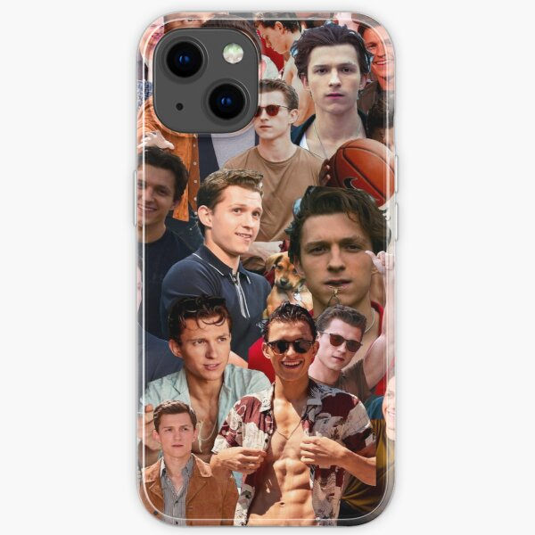 Tom Holland Fotocollage iPhone Flexible Hülle