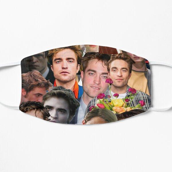 Robert Pattinson Photo Collage Flat Mask