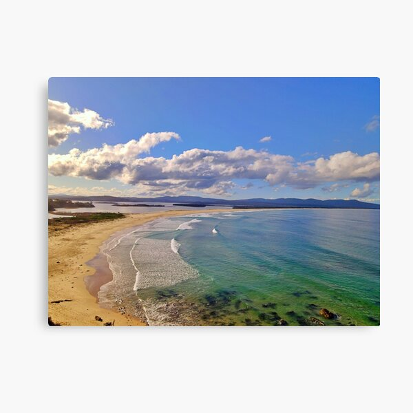 Mallacoota Main Beach June 2020 Canvas Print