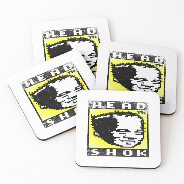 8-bit Grunge Shox Coasters (Set of 4)
