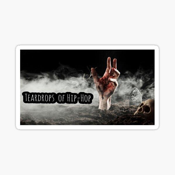 Graveyard Teardrops  Sticker