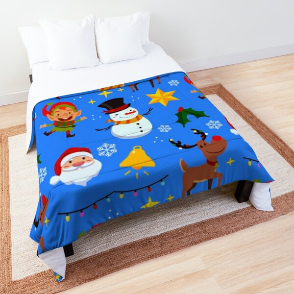 Christmas Themed Pattern  Comforter