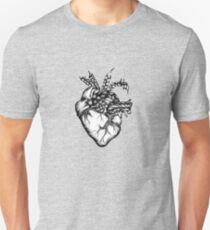 Braided Heart Unisex T-Shirt