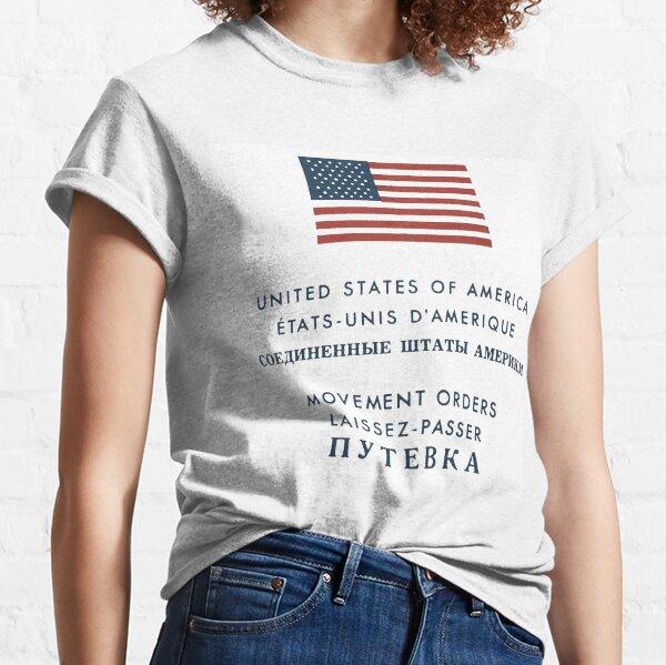 Bewegungsaufträge - Westdeutschland nach Westberlin Classic T-Shirt