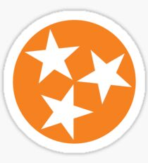 Tennessee orange Tristar Sticker