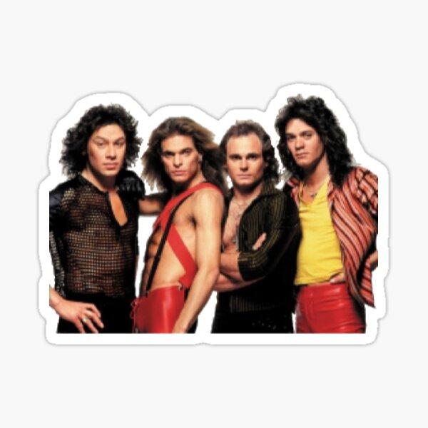 die Eddie Gitarre -frankenstain- original -van- Tour für American Classic Rock -halen- Originalkonzert Van Halen RIP Rockgitarristen Sticker