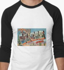 Vintage Colorful Greetings From Las Vegas Nevada T-Shirt