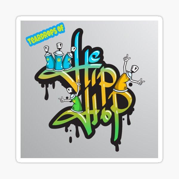 HIP-HOP TEARZ GRAFFITI  Sticker