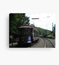 Classic Brooklyn Trolley, Shoreline Trolley Museum, East Haven, Connecticut Canvas Print