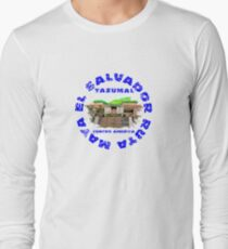 Tazumal El Salvador Ruta Maya Long Sleeve T-Shirt