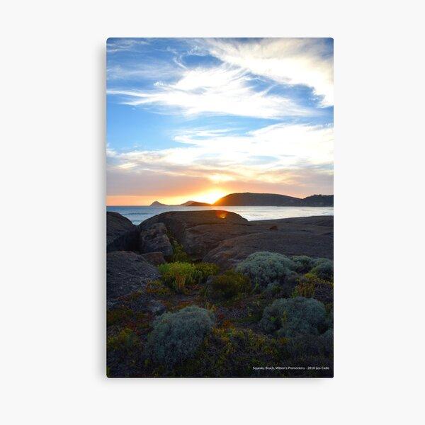 Squeaky Beach, Wilsons Promontory Canvas Print