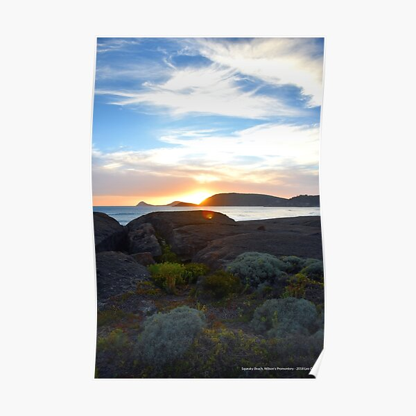 Squeaky Beach, Wilsons Promontory Poster