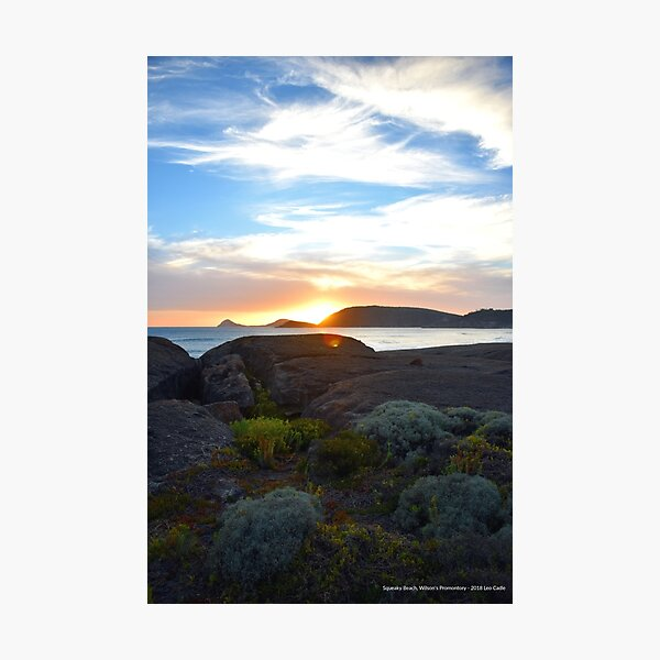 Squeaky Beach, Wilsons Promontory Photographic Print