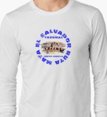 Ruinas del Tazumal Ruta Maya Long Sleeve T-Shirt