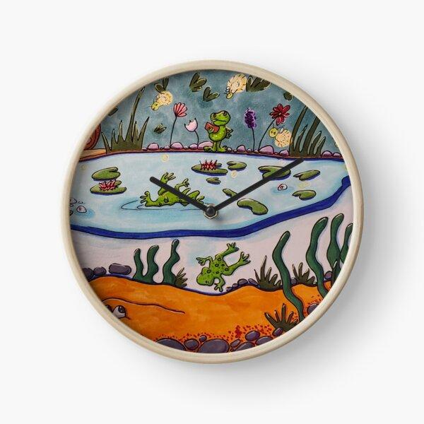 Cool Pond Clock