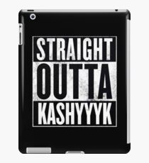 Straight Outta Kashyyyk iPad Case/Skin