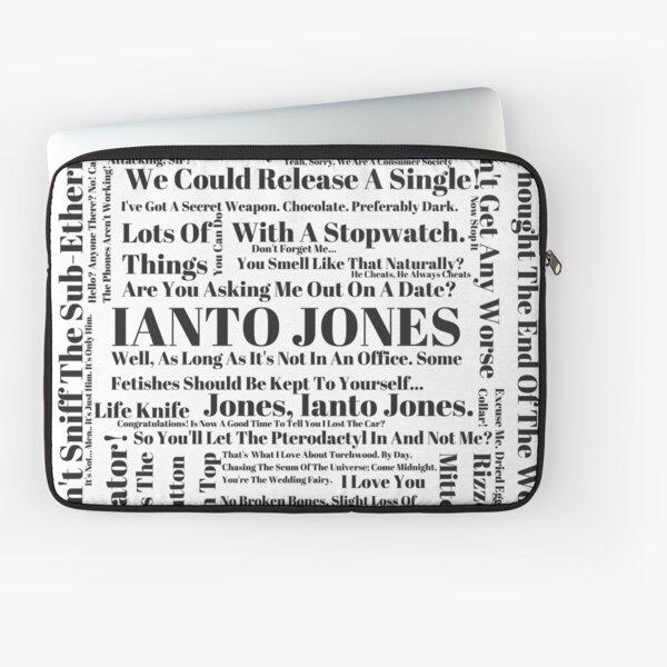 Ianto Jones Quotes Laptop Sleeve