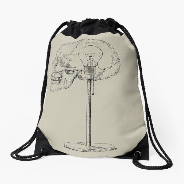 Light Bulb Moment Drawstring Bag