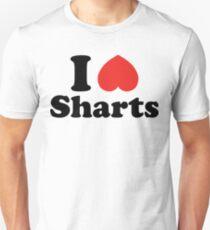 I Heart Sharts Unisex T-Shirt