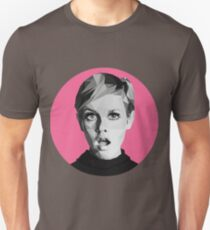 Twiggy low-poly portrait Unisex T-Shirt