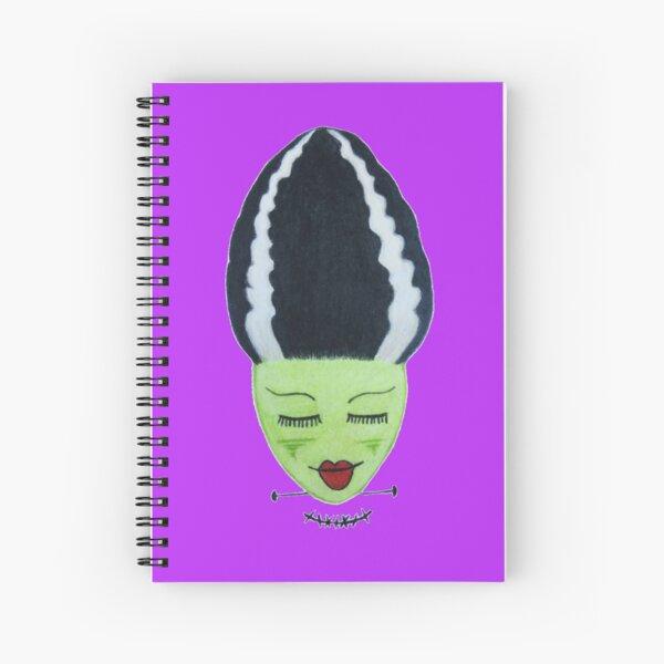 Frankenstein's Bride - Purple Spiral Notebook