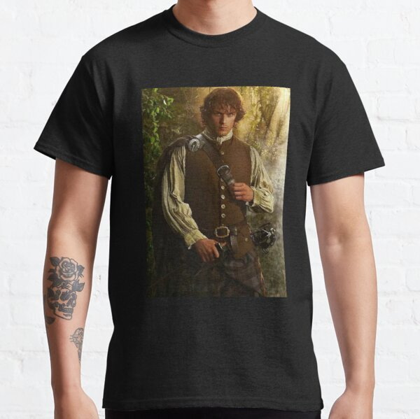 Sam Heughan T-shirt classique