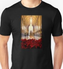 Christmas Trees And Poinsettas In The Fisher Building  Unisex T-Shirt