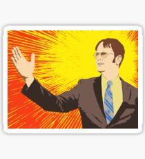 Dwight  - Rising Sun Sticker