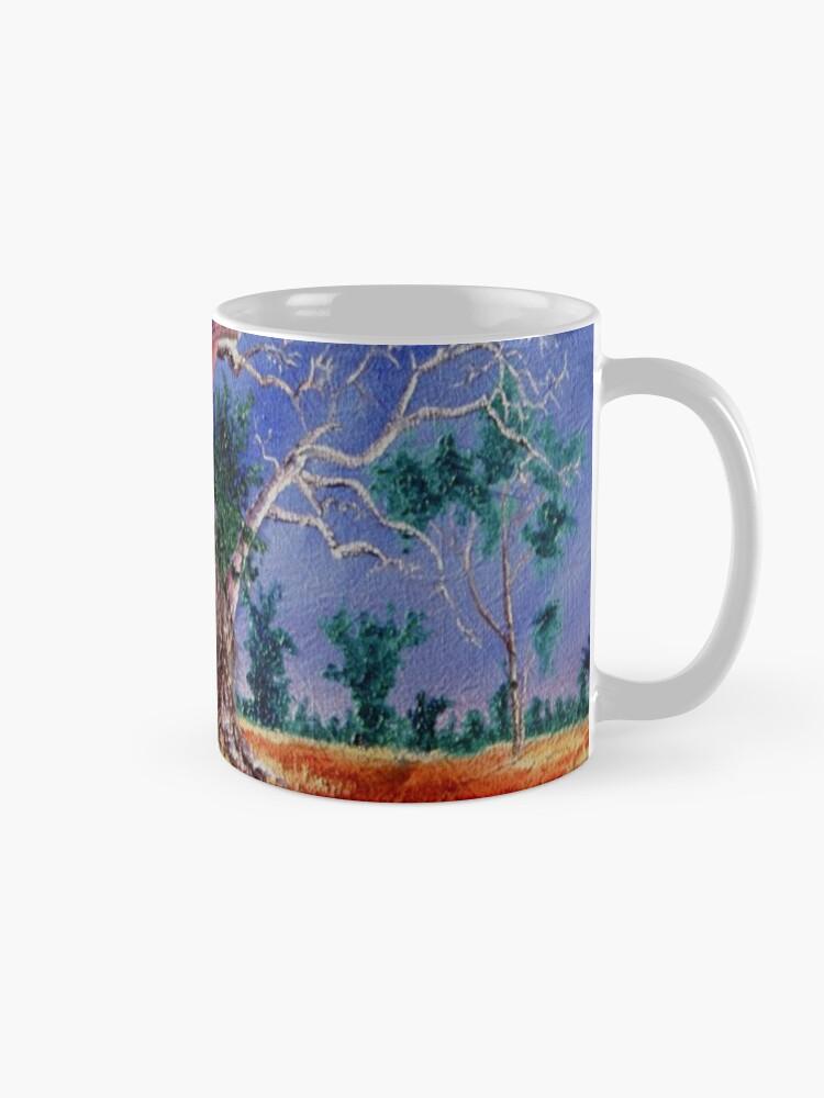 Alternate view of Outback Boab Tree - Print of Oil on canvas original artwork Mug