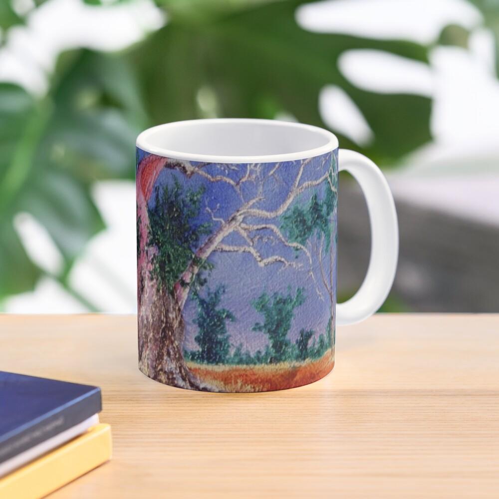 Outback Boab Tree - Print of Oil on canvas original artwork Mug
