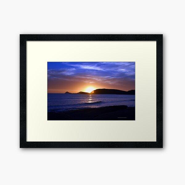 Squeaky Beach, Wilson's Promontory Framed Art Print