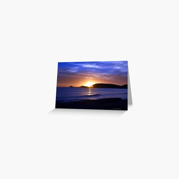 Squeaky Beach, Wilson's Promontory Greeting Card
