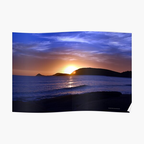 Squeaky Beach, Wilson's Promontory Poster