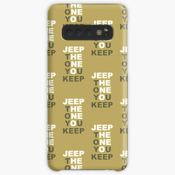 JEEP THE ONE TOY YOU KEEP Samsung Galaxy Snap Case