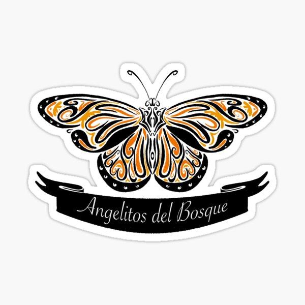 Angelitos del Bosque (estilizado) Pegatina