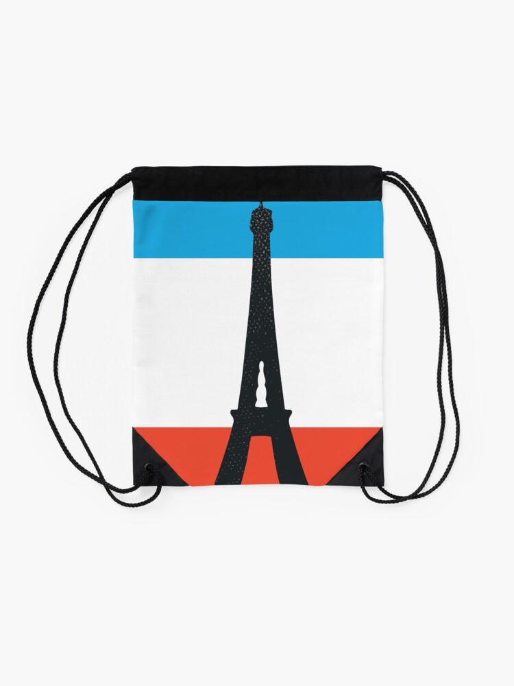 Alternate view of Paris Drawstring Bag