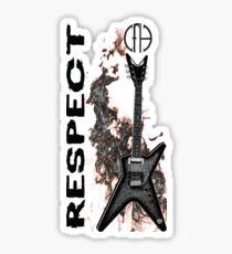pantera cfh respect guitar Sticker