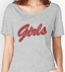 Girls (Red) Women's Relaxed Fit T-Shirt