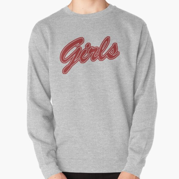 Girls (Red) Pullover Sweatshirt