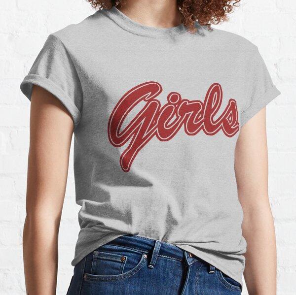 Filles (Rouge) T-shirt classique