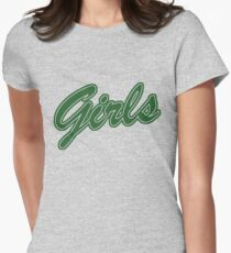 Girls (Green) Fitted T-Shirt
