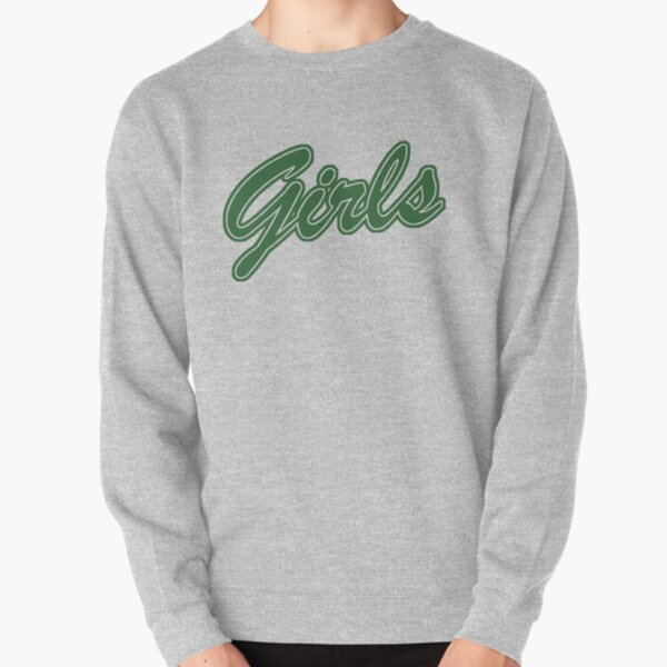 Girls (Green) Pullover Sweatshirt