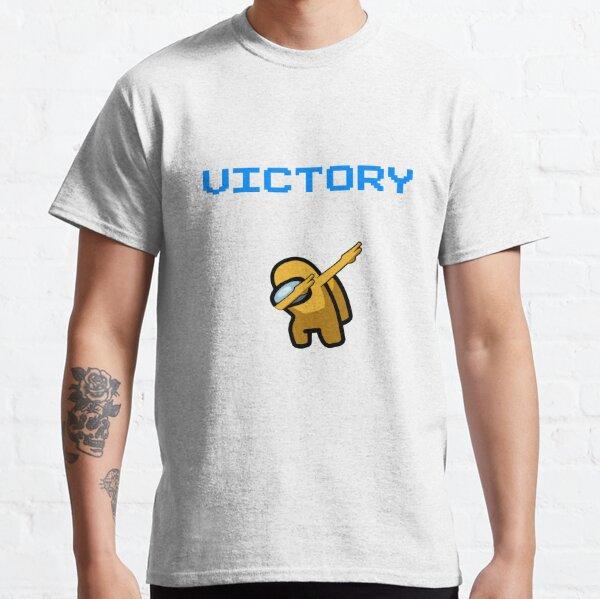 parmi nous tamponnant la victoire jaune T-shirt classique