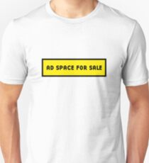 Advertising space for sale T-Shirt