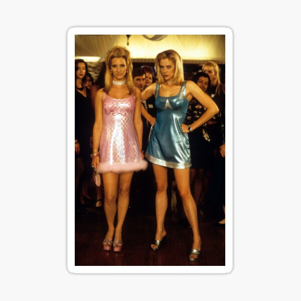 Romy and Michele Sticker