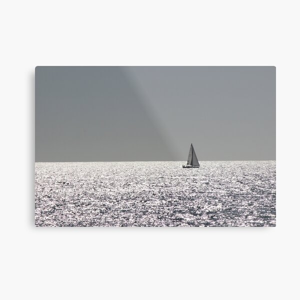 Silver Sea's II Metal Print