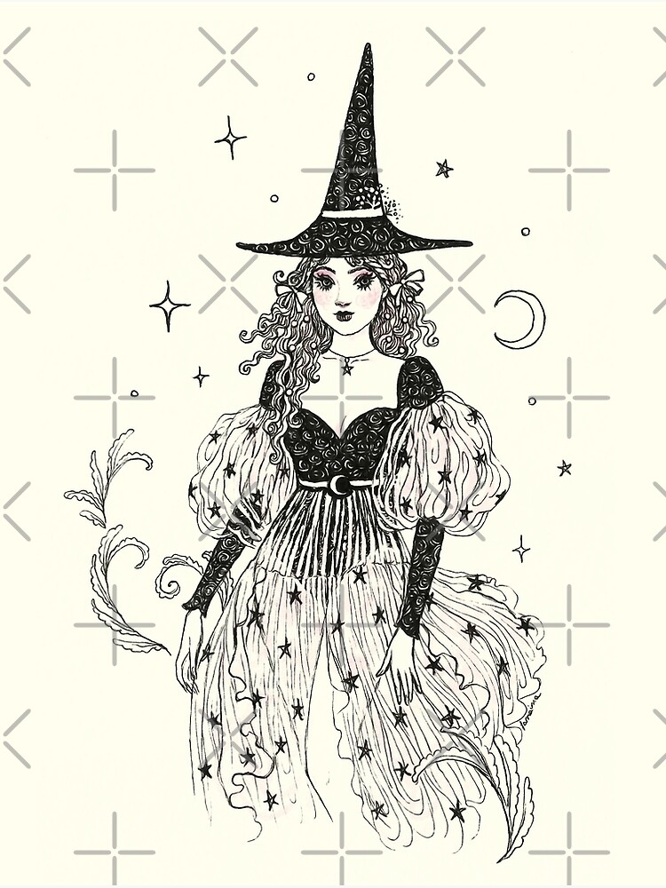 Witch Fashion 1 by JanainaArt