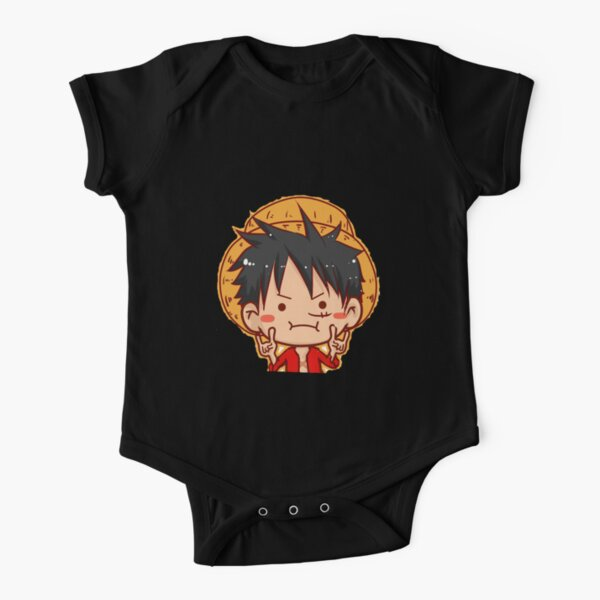 One Piece Monkey D Luffy Body manches courtes