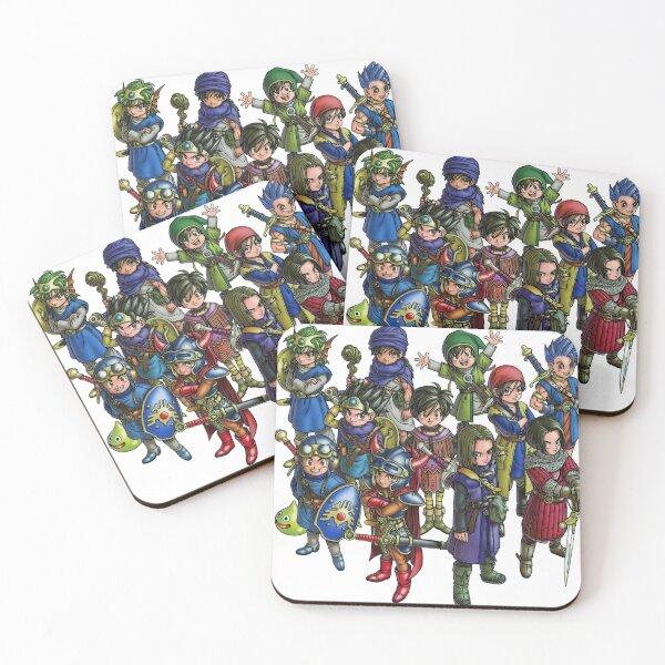 Dragon Quest Heroes Dessous de verre (lot de 4)
