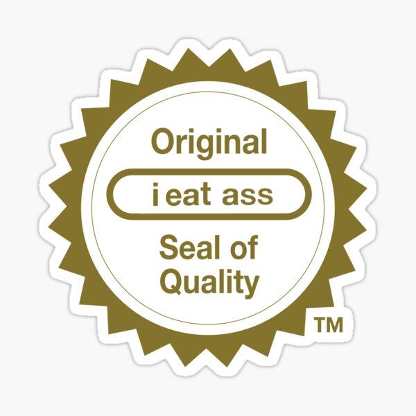 "Nintendo's ""Seal of Quality"" Sticker"